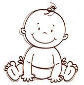 bébé dessin reduit